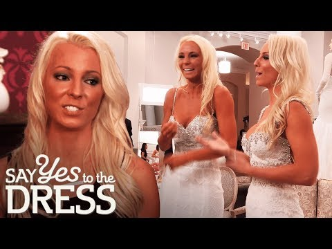 Bride Makes Her Twin Try on the Dress She Doesn't Approve Of! | Say Yes To The Dress