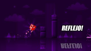REFLEJO EN EL NIVEL! Geometry Dash [2.0] - Reflected by Skitten - Bycraftxx