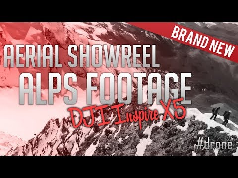 DJI Inspire Showreel - Arial Drone Footage - Apls Bikes Climbing - Beautiful nature video