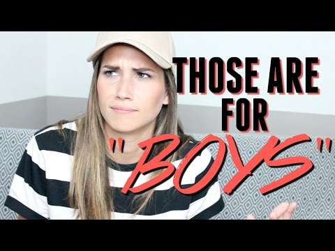 SHOPPING IN THE MENS SECTION | STORYTIME
