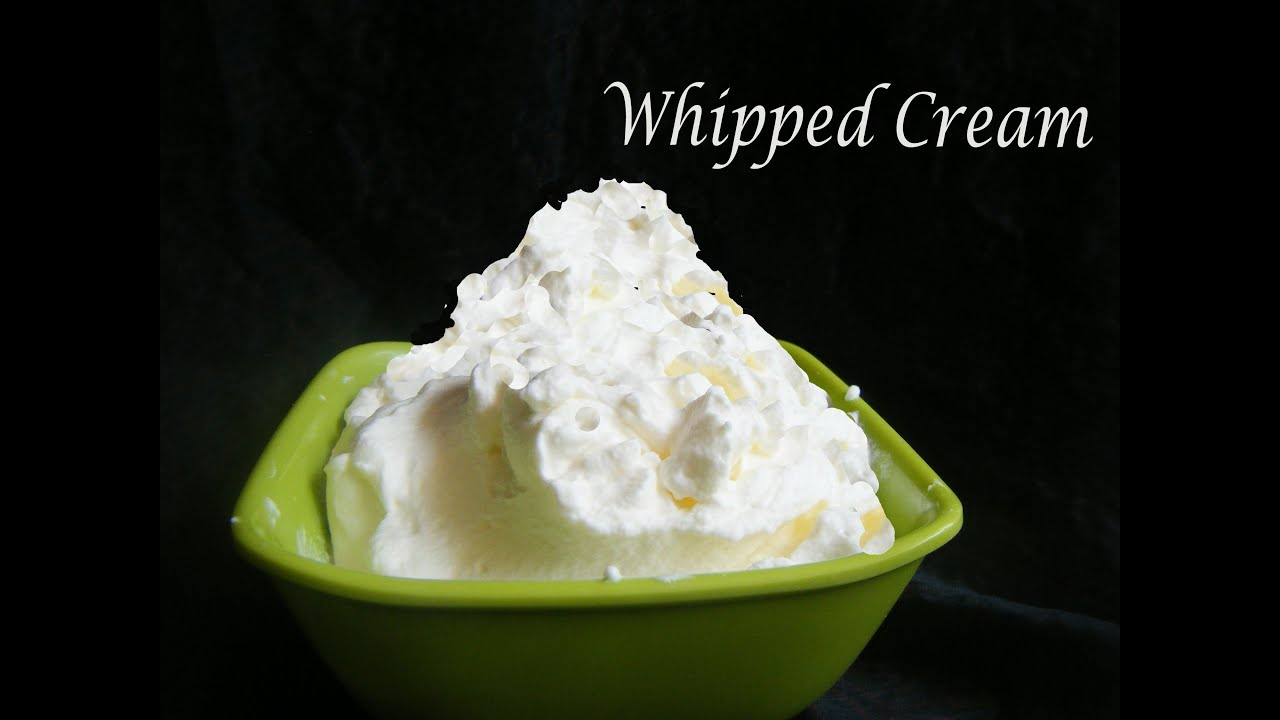 Homemade whipped cream in tamil in just three minutes youtube ccuart Gallery