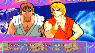 Marvel Super Heroes vs Street Fighter - Ryu & Ken