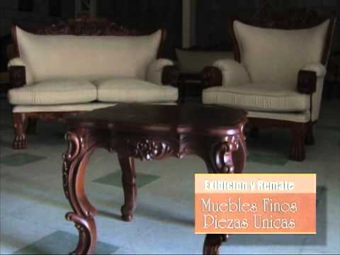 Gran remate muebles finos santa cruz youtube for Remates uruguay muebles