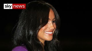 Meghan Markle back in the spotlight after revealing struggle