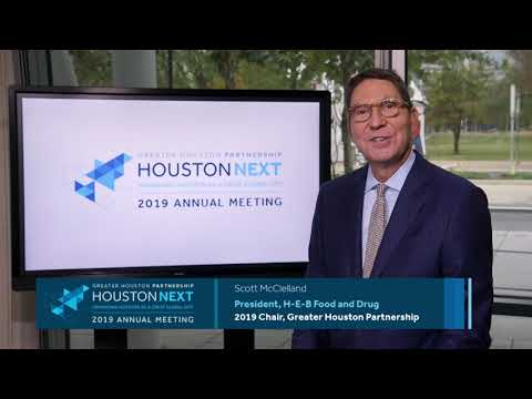 Join the Greater Houston Partnership for its 2019 Annual Meeting