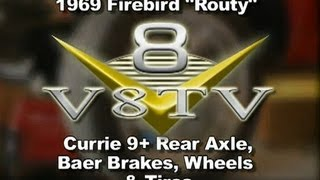 1969 Firebird Routy Currie Rear Axle & Baer Brake Install Video V8TV