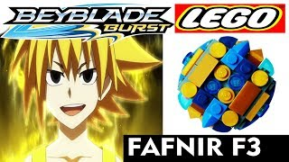 Бейблэйд Берст Лего Як Зробити Fafnir F3 з Лего BeyBlade Burst God Lego