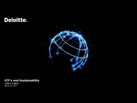 Link'n Learn - ETFs and sustainability