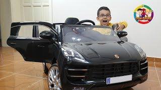 Yeni Akülü Araba Aldık ! Açtık, kurduk, bindik, çok eğlendik!