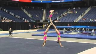 Bentley-Silverman-Stickley - Balance - 2015 USA Gymnastics Championships thumbnail
