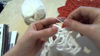 Мастер - класс по вязанию в технике Ирландского кружева