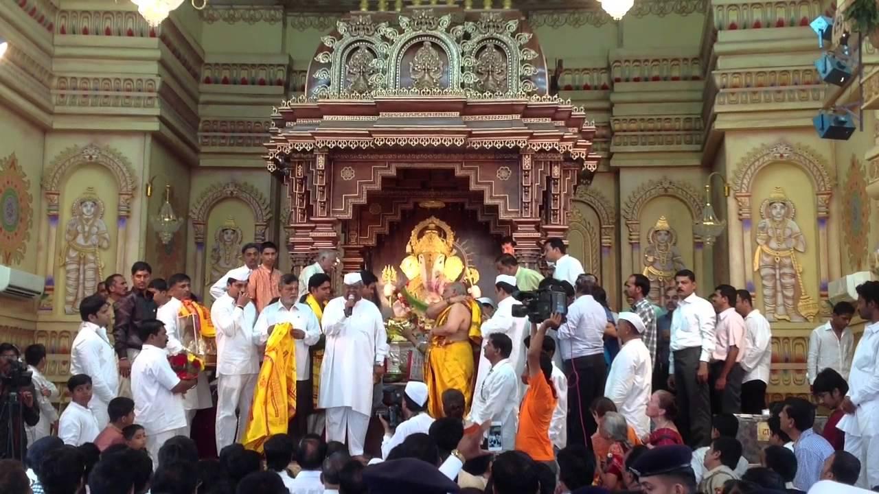 Ganesh Utsav Shreemant Dagdusheth Halwai Ganapati Temple Pune Photo Gallery for free download