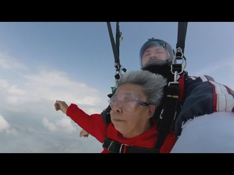 Thumbnail: Grandma Skydives With Granddaughter, Plans More Action-Packed Trips