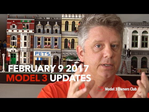 February 9 2017 Model 3 Updates and rumours? | Model 3 Owners Club