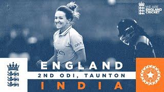 England v India - Highlights | England Seal the Series! | 2nd Women's Royal London ODI 2021