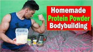 HOW TO MAKE PROTEIN POWDER AT HOME | HOMEMADE PROTEIN SHAKE