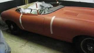 Jaguar E-Type 1965 Restoration Project