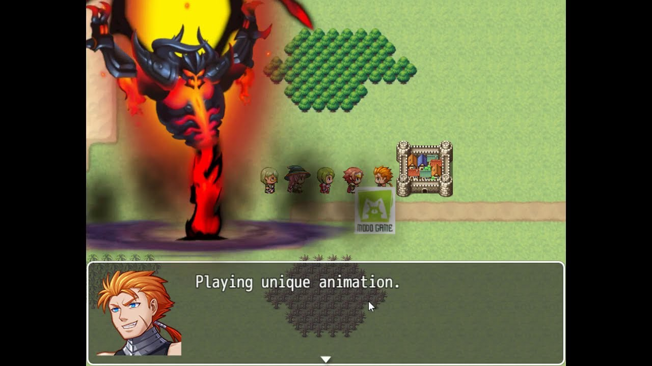 2D Skeletal Animation In RPGMaker with DragonBones Release