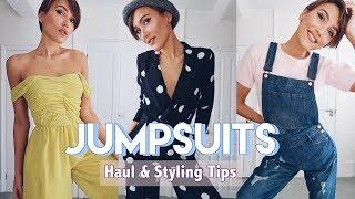 5 JUMPSUITS  - MANGO, ZARA, ASOS HAUL & TRY ON | Blaise Dyer