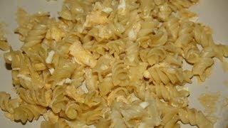 Как приготовить макароны с яйцом и сыром за 10 минут!(Видео инструкция как приготовить макароны с яйцом и сыром за 10 минут! Вкусно, быстро и полезно. Наше новое..., 2013-10-10T16:33:26.000Z)