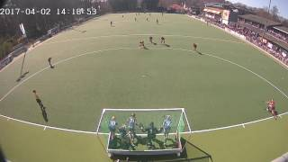 02-apr.-17 12:45 - 14:20 (2-0) Dames 1 D1 - Ring Pass D1 (Goals)