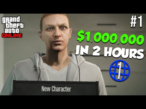 The FASTEST Way To Make $1,000,000 As A Beginner   GTA Online Rags To Riches Episode 1