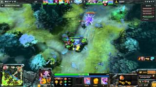 Битва кланов  UP vs Raget в Dota 2