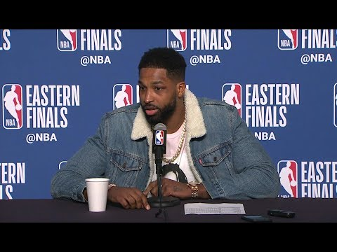 Tristan Thompson Postgame Interview - Game 4 | Celtics vs Cavaliers | 2018 NBA East Finals