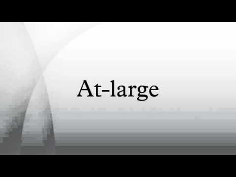 At-large
