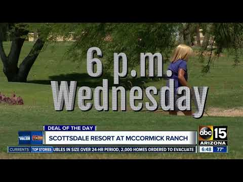 Pay $79 at The Scottsdale Resort at McCormick Ranch and get spa credit!
