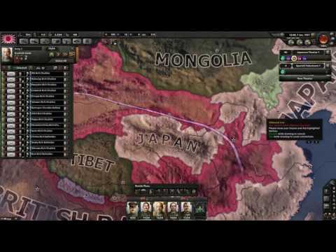 Hearts of Iron 4 Stream Team: Empire of Japan [Day 2] HOI4