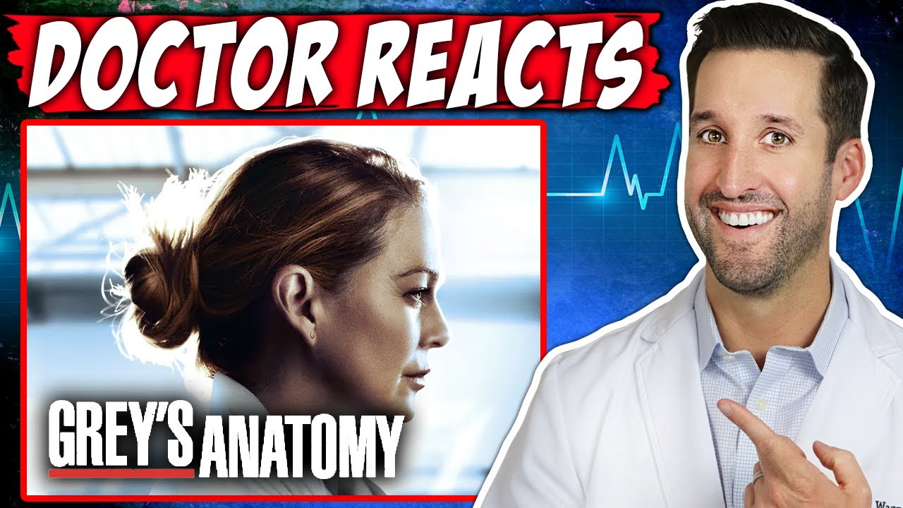 ER Doctor REACTS to Grey's Anatomy | Medical Drama Review