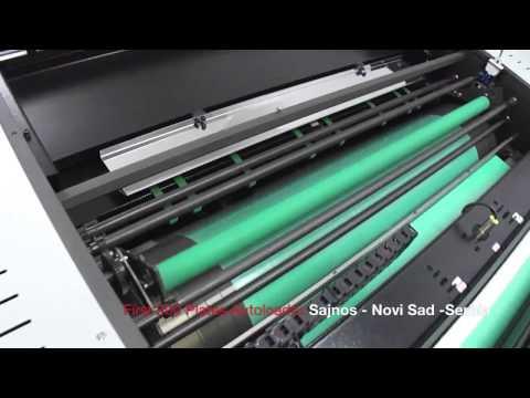 Инсталляция СТП CRON UVP с автоматическим загрузчиком пластин   ООО Полиграфические машины