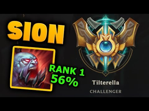BUGS FIXED!? Sions the Highest win rate Top laner now | League of Tilt