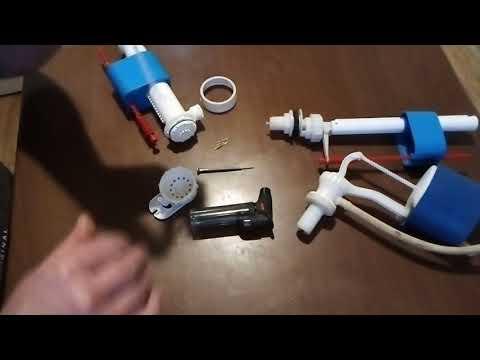 Ремонт клапана бачка унитаза