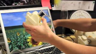 Sauron : Embedded Single-Camera Sensing of Printed Physical User Interfaces