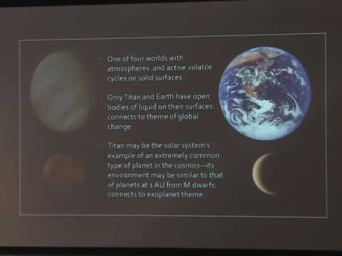 Short Course on Planetary Science of Titan - Part I