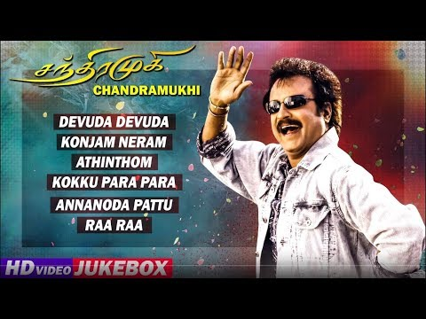 Chandramukhi Tamil Movie Songs | Back To Back Video Songs | Rajinikanth | Jyothika | Nayanthara