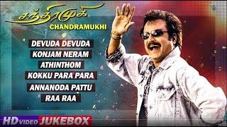 Chandramukhi Tamil Movie Songs | Back To Back Video Songs | Rajinikanth | Jyothika | Nayanthara