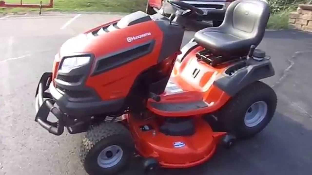 46 U0026quot  Husqvarna Riding Lawn Mower With 21 5 Hp Kawasaki