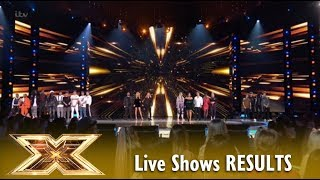 Live Shows Week 3 The Results Announcement! UNEXPECTED?! | The X Factor UK 2018