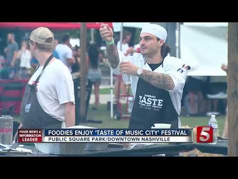 Foodies Enjoy 16th Annual Taste Of Music City Festival