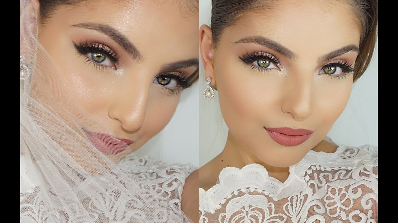 Wedding Day Drugstore Makeup : My Wedding Day Makeup Tutorial ? - YouTube