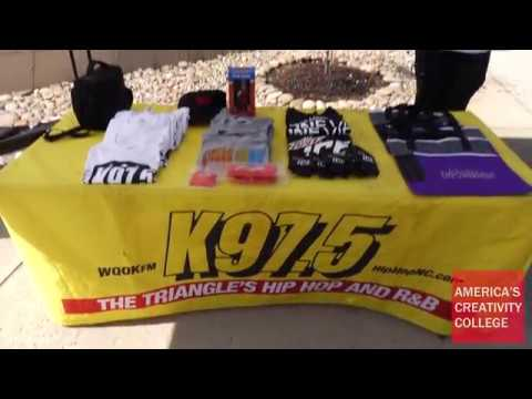 K97.5 College Tour at Living Arts College