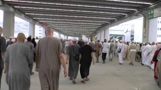 Mina - Entering the Jamarat Area