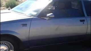 1987 Buick Regal Grand National Turbo Loaded (California garaged vehicle)