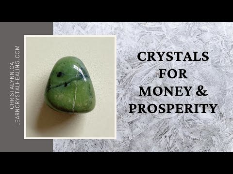 Crystals For Money & Prosperity