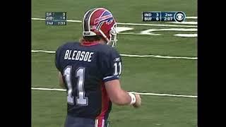 Drew Bledsoe TDs w/Buffalo Bills