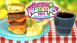 Burger Maker Toy Yummy Nummies Best Ever Burger Fries Soda Kit Diy Double Double Burger