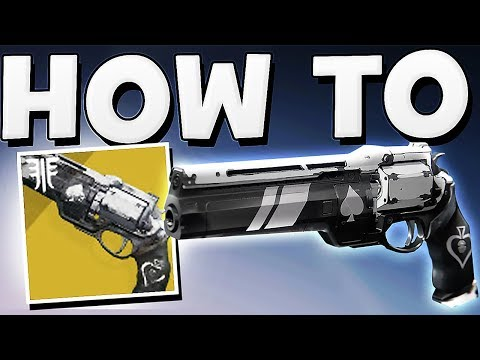 Destiny 2 - HOW TO GET ACE OF SPADES Exotic Hand Cannon Quest Guide !!